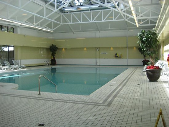 Delta Lodge at Kananaskis: Swimming Pool
