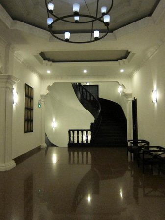 White Mansion Boutique Hotel: Hallway on our floor