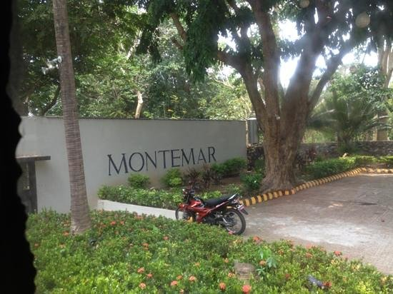 Montemar Beach Club: entrance