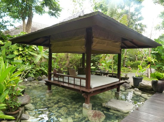 Gending Kedis Villas & Spa Estate: Decorative gazebo