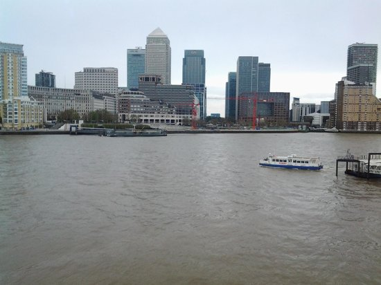 Hilton London Docklands : complimentary river ferry