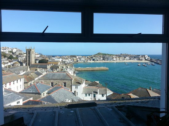 View from the lounge picture of the regent st ives for 27 the terrace st ives reviews
