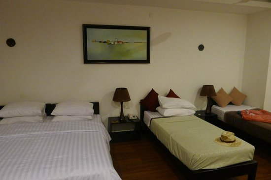 The Billabong Hotel: habitacion familiar