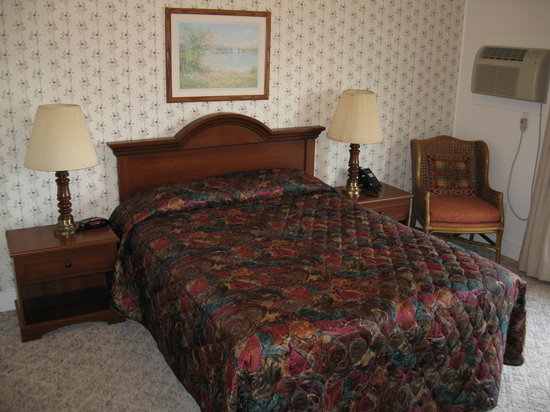 Hickory Grove Motor Inn: 1 Queen Bed Room