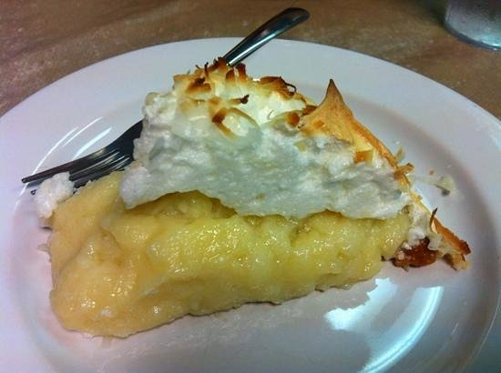 Paris, TN : Divine homemade coconut pie