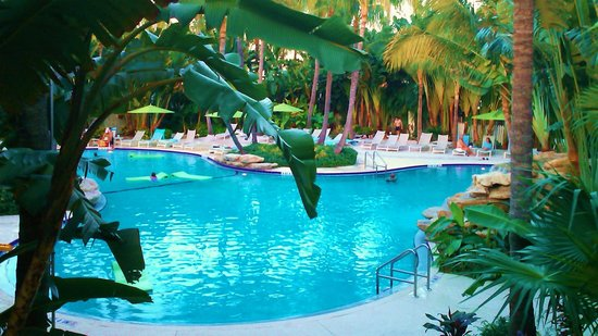 The Inn at Key West: pool side