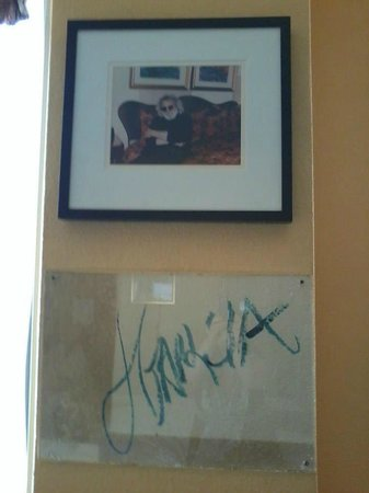 Hotel Triton - a Kimpton Hotel: Jerry Garcia Suite - Jerry&#39;s Auto and picture.