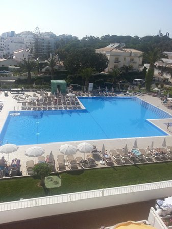 Clube Praia da Oura: Hotel