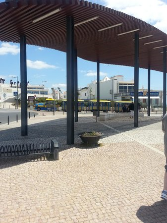 Clube Praia da Oura: Fun Train to and from Old Town