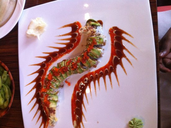 Dragon Roll - Picture of Sushi Tao, Fort Worth - TripAdvisor