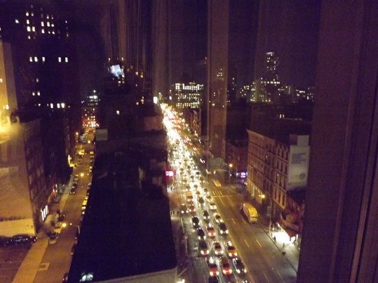 Tribeca Blu Hotel: Our evening view