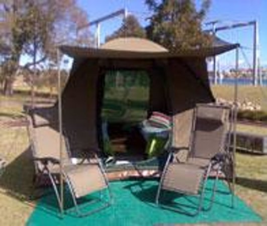 Cockatoo Island Camping