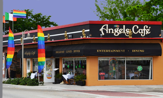 ‪‪Wilton Manors‬, فلوريدا: Angels Restaurant‬