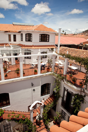 El Hostal de Su Merced: Beautiful Rooftop views of the city