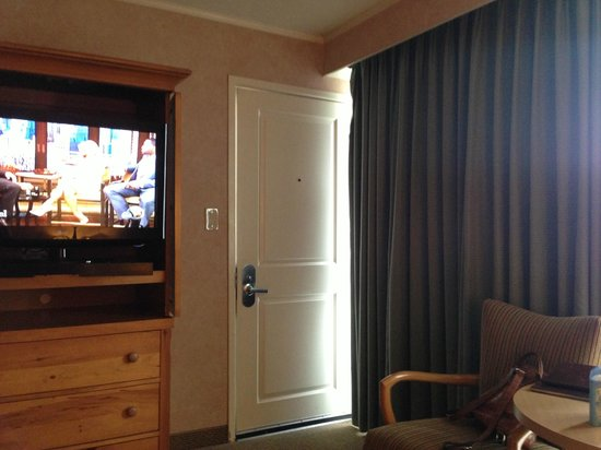 "Flamingo Conference Resort & Spa: ""back door"" of room to parking area"