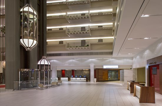 Hyatt Regency Atlanta: Historic Atrium Lobby