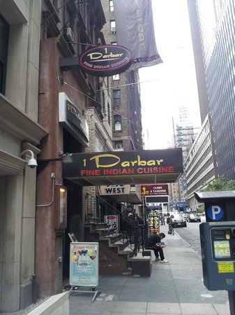 Darbar Fine Indian Cuisine New York City Midtown Menu