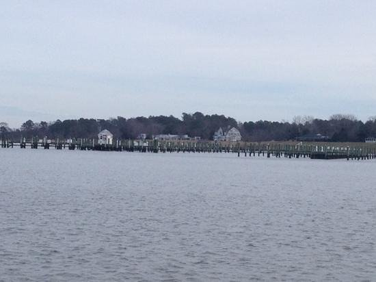 Hyatt Regency Chesapeake Bay Golf Resort, Spa & Marina: looking towards the marina