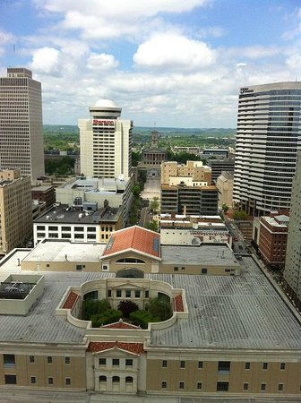 Renaissance Nashville Hotel: Concierge Lounge view