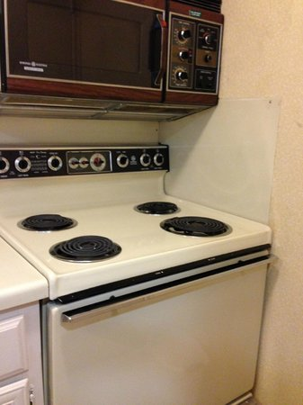 Residence Inn Houston Medical Center/Reliant Park: the stove