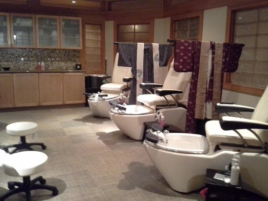 Lodge of  Four Seasons: Spa Shiki Pedicure Room