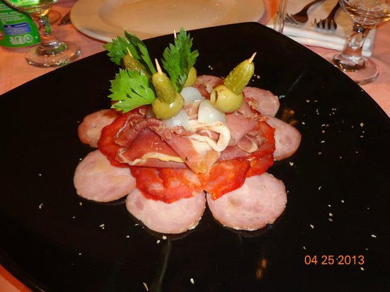 Restaurante Mangle Rojo: plato esquisito,