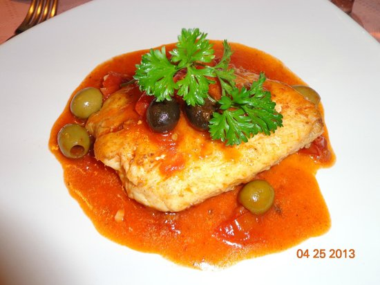 Restaurante Mangle Rojo: filete de pescado
