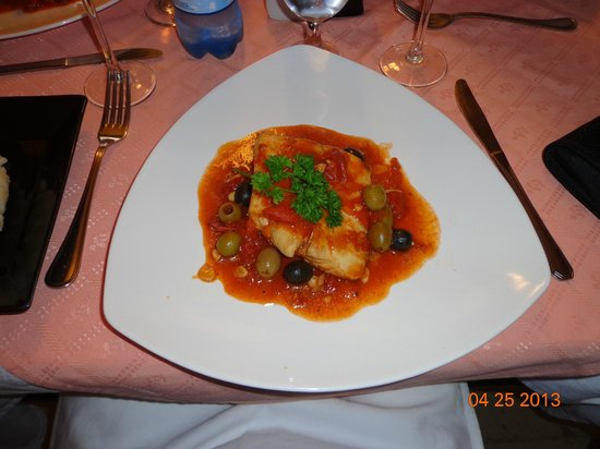 Restaurante Mangle Rojo : filete de pescado