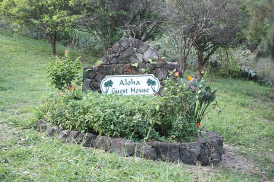 Aloha Guest House: Entrance area to the B&B