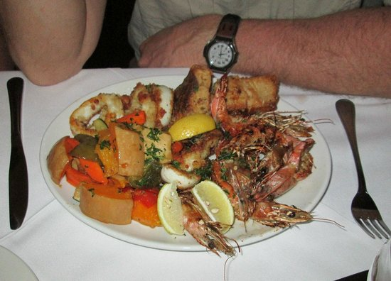 Chapmans Peak Beach Hotel: Another scrumptuous meal