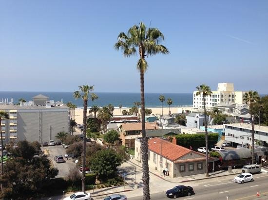 Viceroy Santa Monica: view from our room