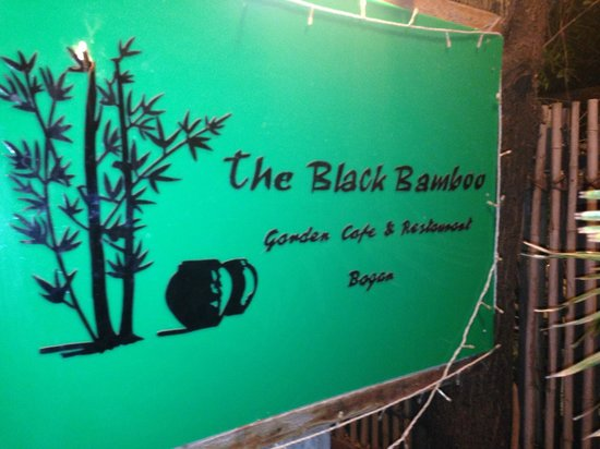 Black Bamboo Pictures Black Bamboo Front Door Sign