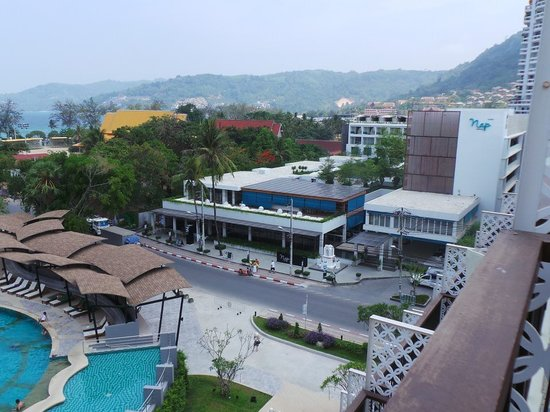 Andaman Embrace Resort & Spa: Overlooking the Patong Beach for my room