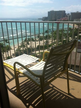 Aston Waikiki Beach Hotel: Breakfast spot!