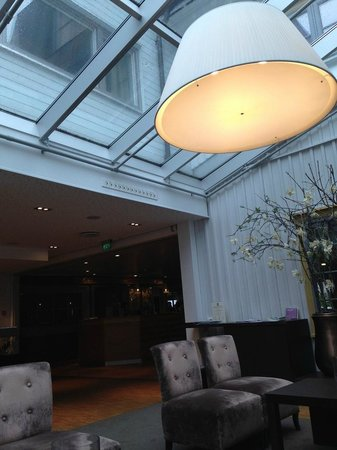 Clarion Collection Hotel Tollboden: Wintergarten