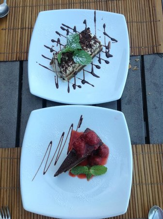 Maret, Thailand: Dessert