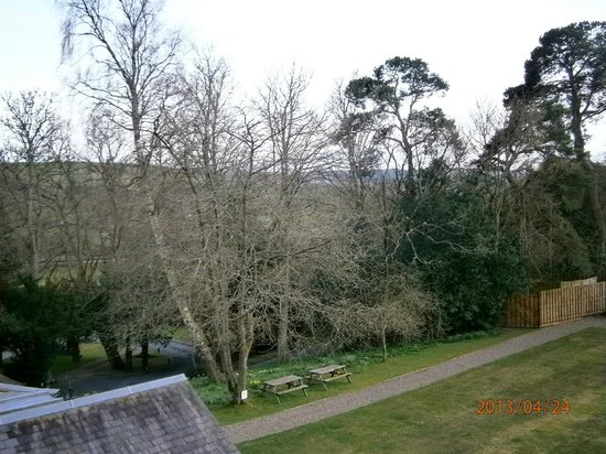 Selkirk, UK: View from the balcony