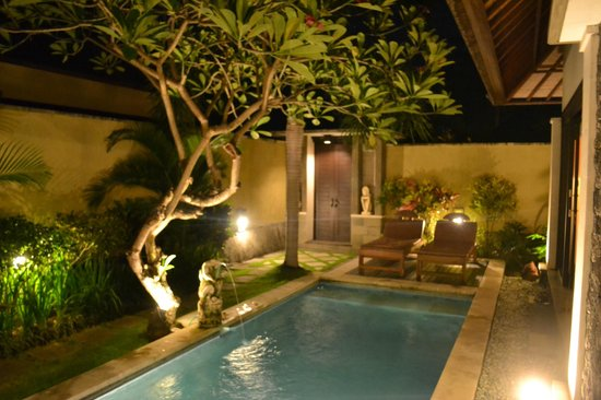 The Sanyas Suite Seminyak: Pool View and Entrance
