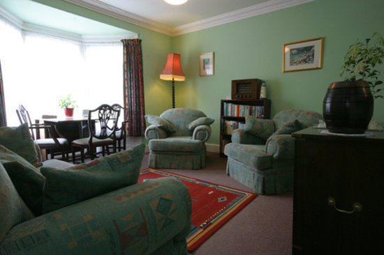 Trefriw, UK: Guest lounge