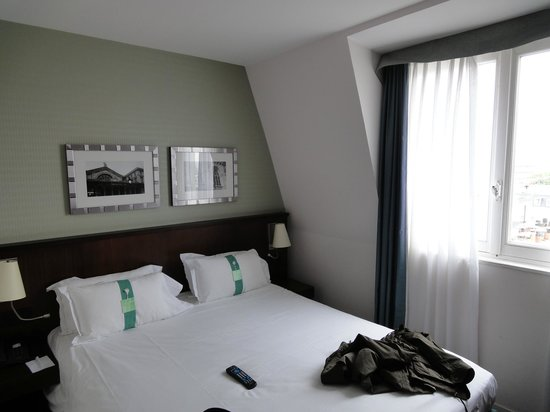 Holiday Inn Paris-Gare de L'Est: the room on the 7 floor