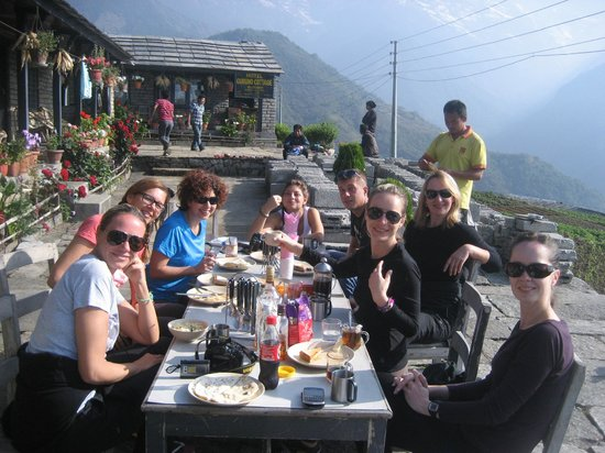 Ghandruk bed and breakfasts