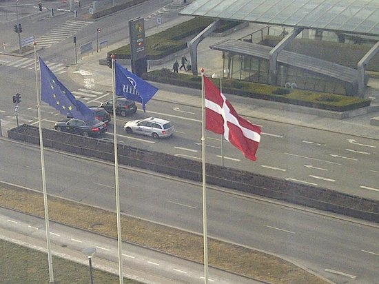 Hilton Copenhagen Airport: from my window 835