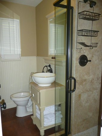 Ocklawaha, Floryda: Shower room