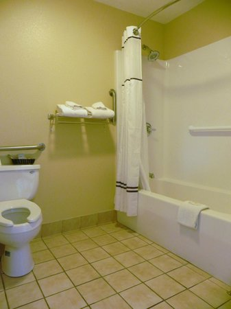 Relax Inn Kuttawa / Eddyville: Handicap Bathroom