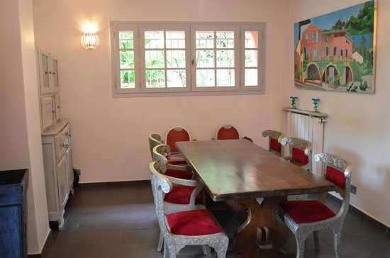 Bastide Valmasque: Sala colazione