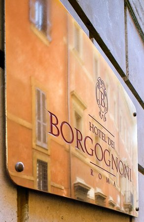hotel dei borgognoni logo