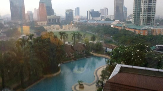 The Ritz-Carlton Jakarta, Mega Kuningan: view from the room