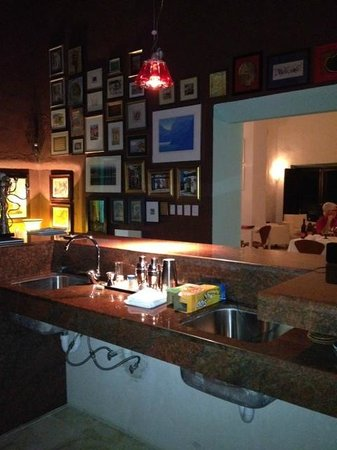 Yucatan, Mexico: Bar and lounge