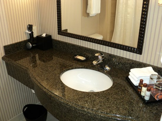 Sheraton Sonoma County - Petaluma: Bathroom was adequate