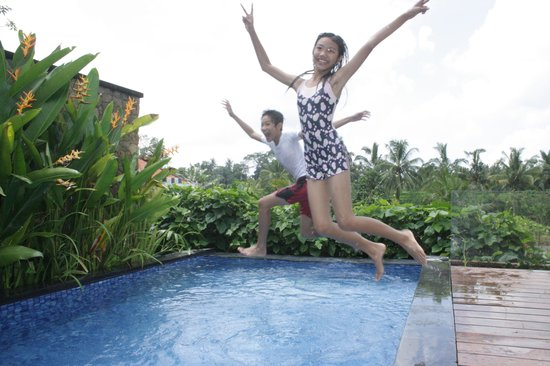 Ubud Green: at Pool